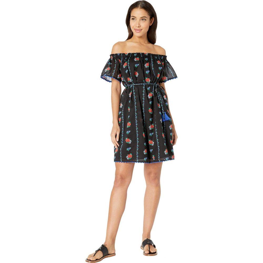 トリー バーチ Tory Burch Swimwear レディース ビーチウェア ワンピース・ドレス 水着・ビーチウェア【Printed Beach Dress】Heirloom Stripe