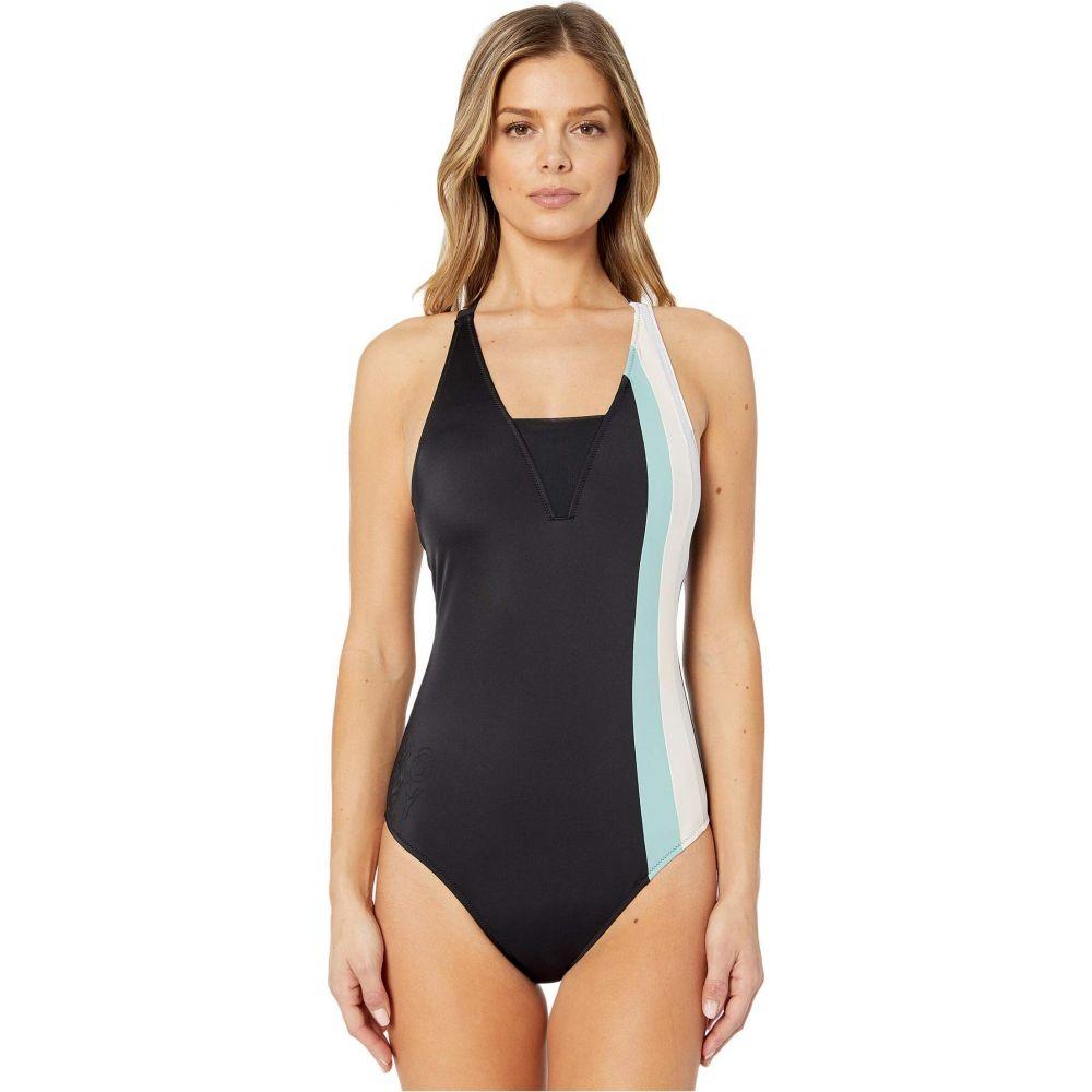 ロキシー Roxy レディース ワンピース 水着・ビーチウェア【ROXY Fitness One?Piece Swimsuit】Anthracite