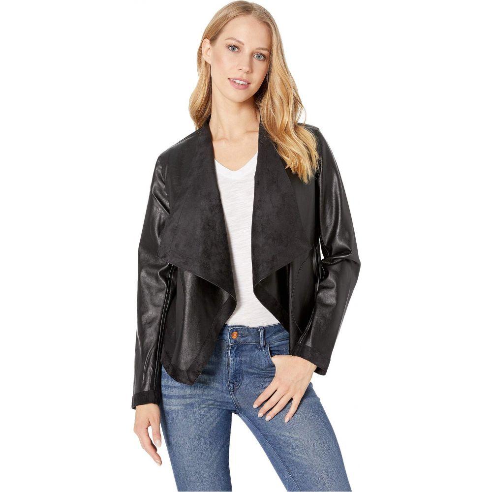 ビービーダコタ BB Dakota レディース レザージャケット アウター【Teagan Reversible Vegan Leather Jacket】Black