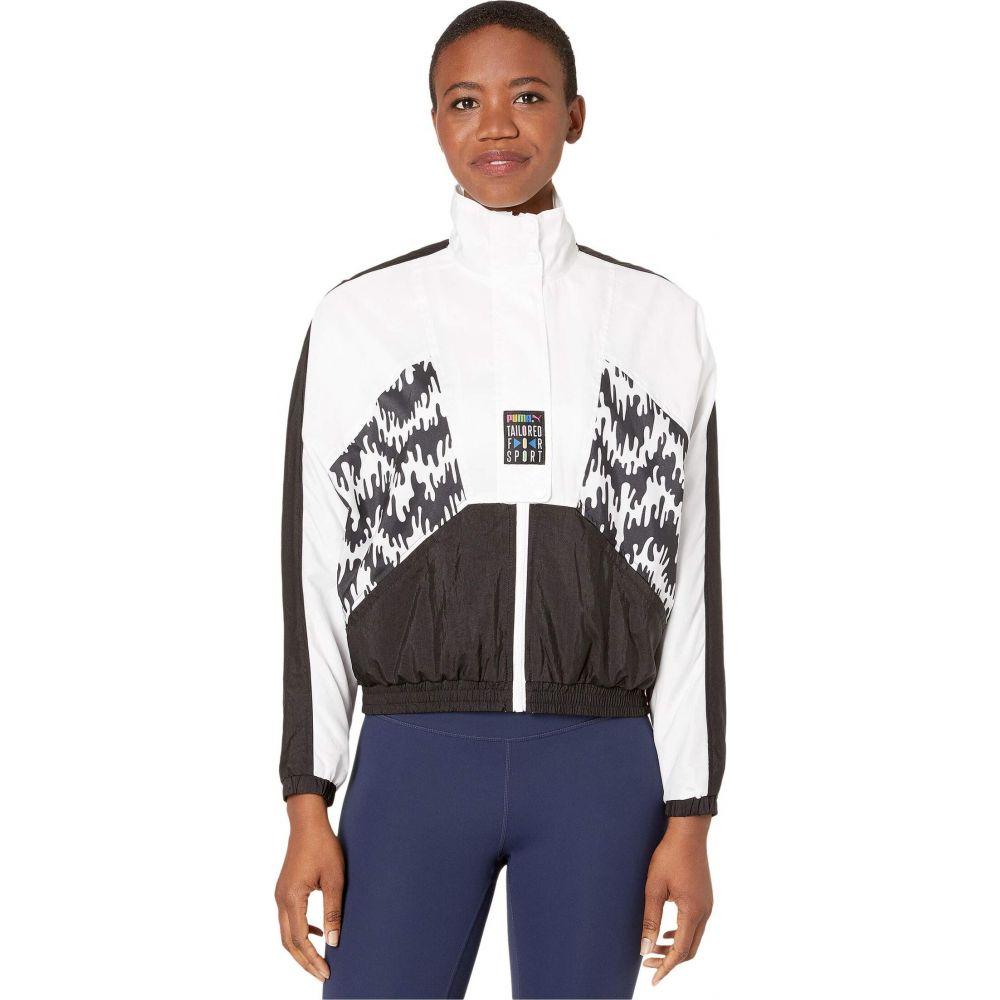 プーマ PUMA レディース ジャージ アウター【Tailored for Sport OG All Over Print Track Jacket】PUMA Black