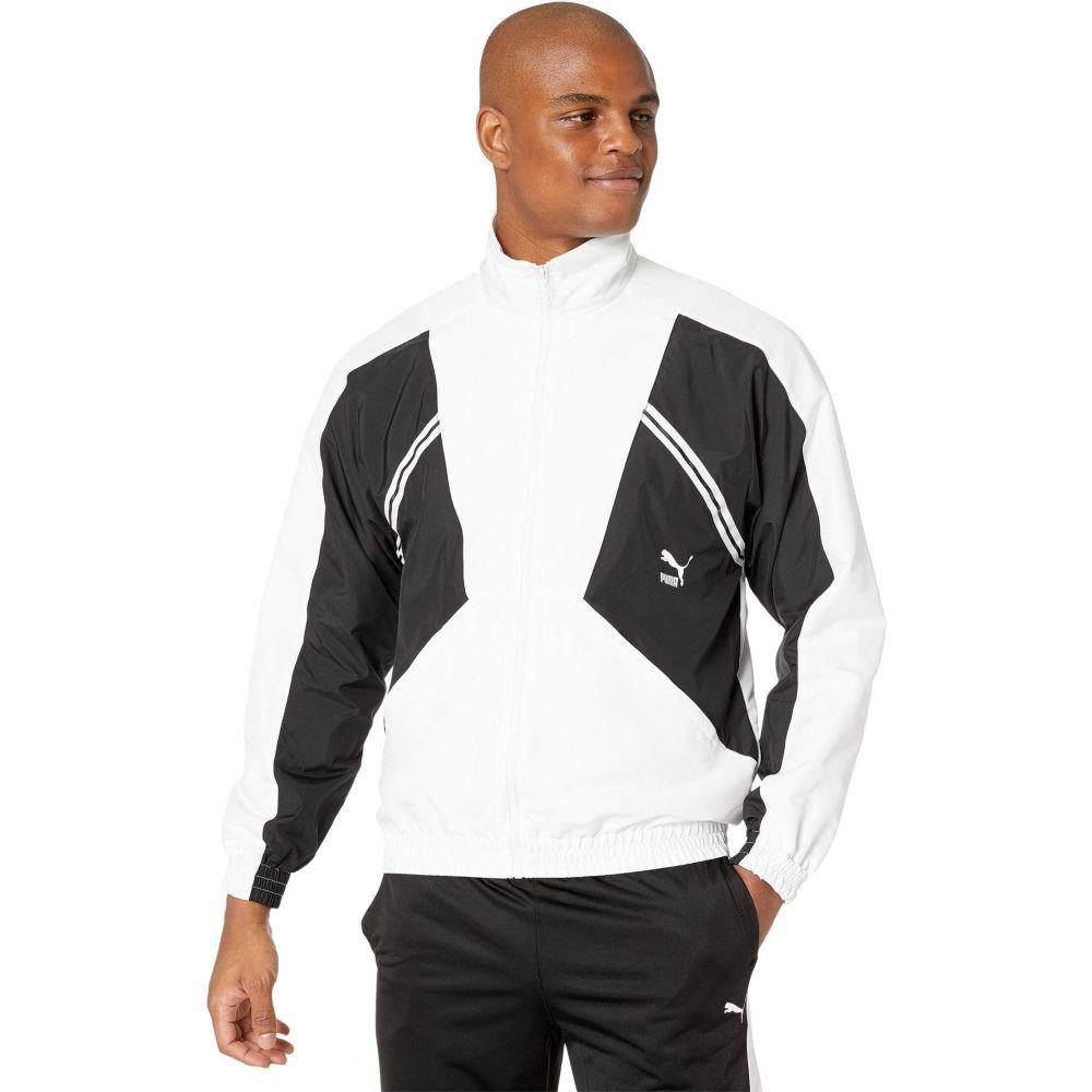 プーマ PUMA レディース ジャケット アウター【Puma TFS Woven Jacket】PUMA White