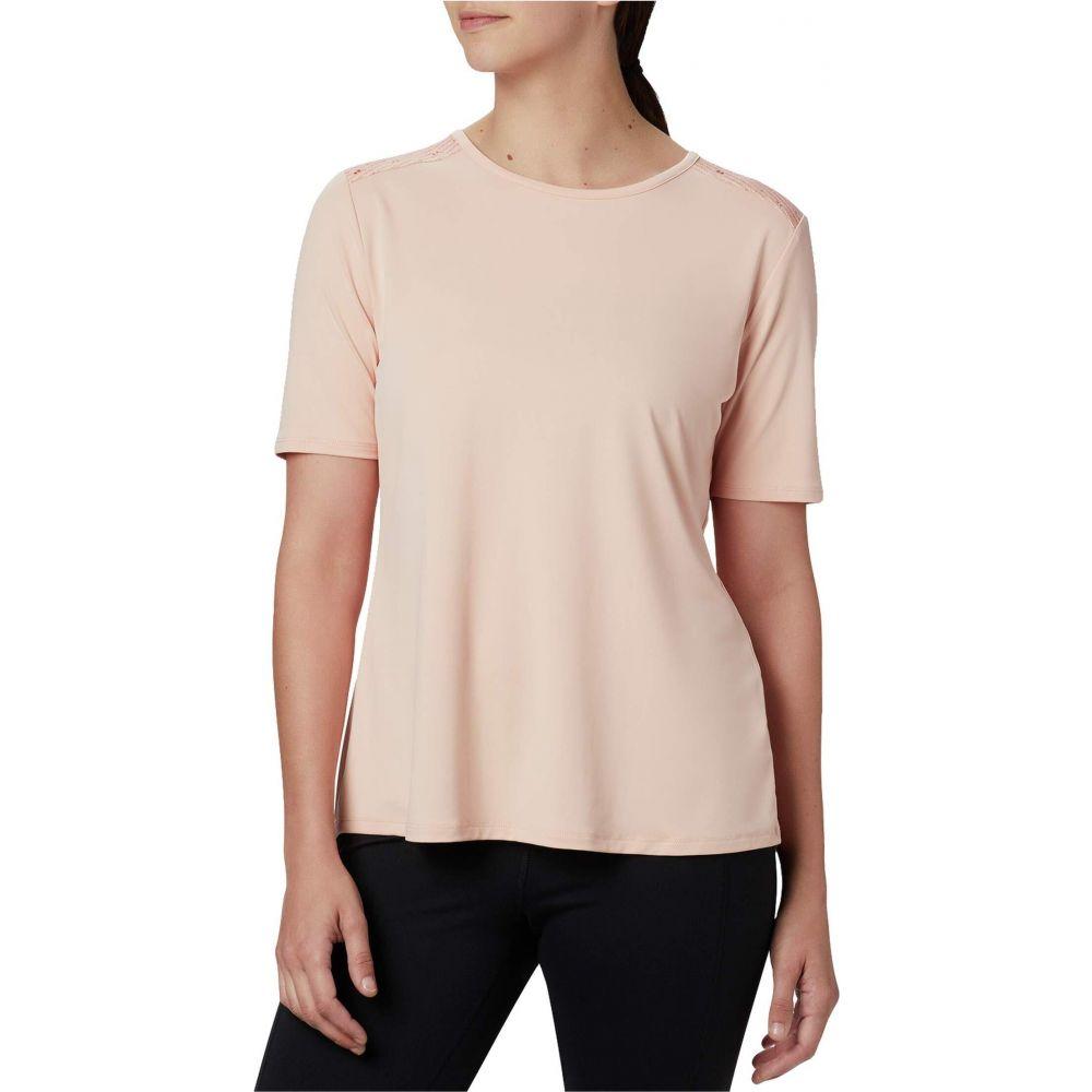 コロンビア Columbia レディース Tシャツ トップス【Chill River Short Sleeve Shirt】Peach Cloud/Peach Cloud Print