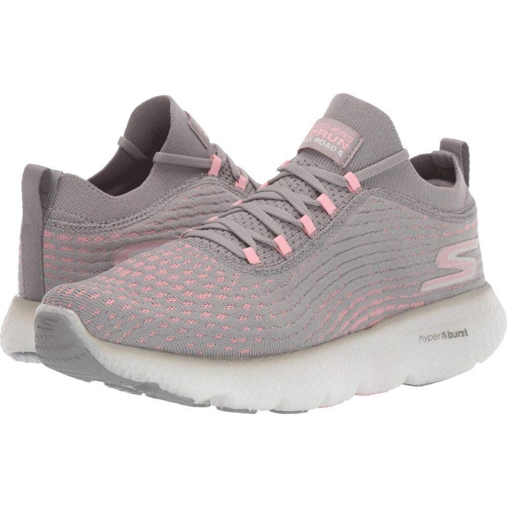 スケッチャーズ SKECHERS レディース ランニング・ウォーキング シューズ・靴【Max Road 4】Gray/Pink