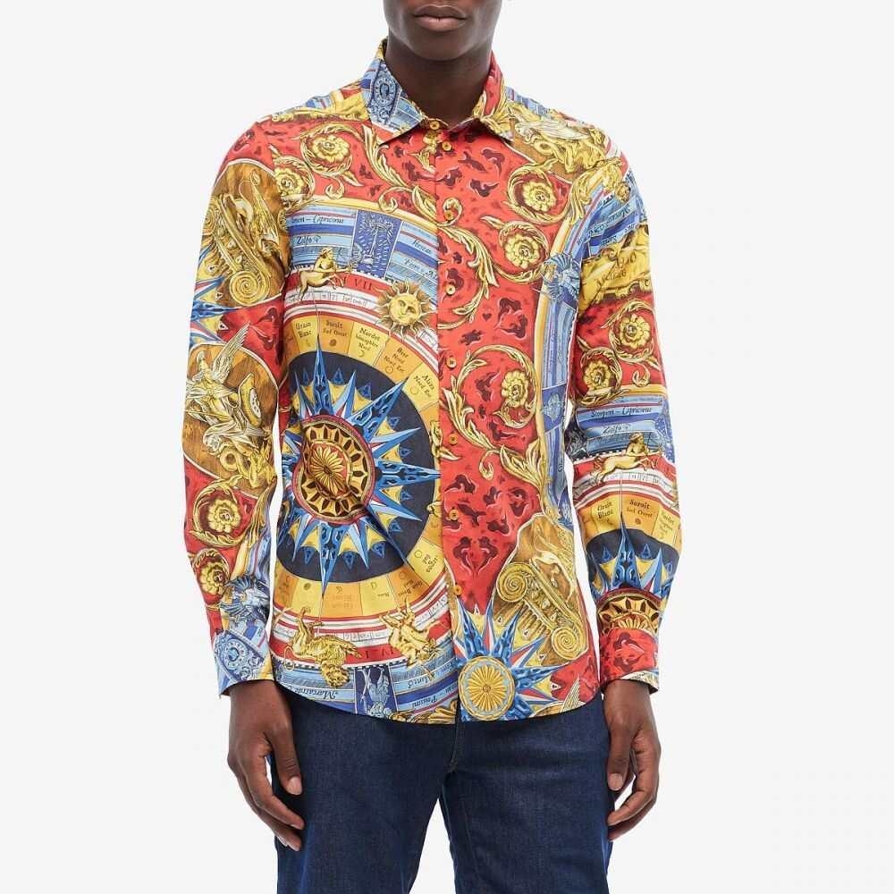 モスキーノ Moschino メンズ シャツ トップス【Printed Button-Up Shirt】Multi