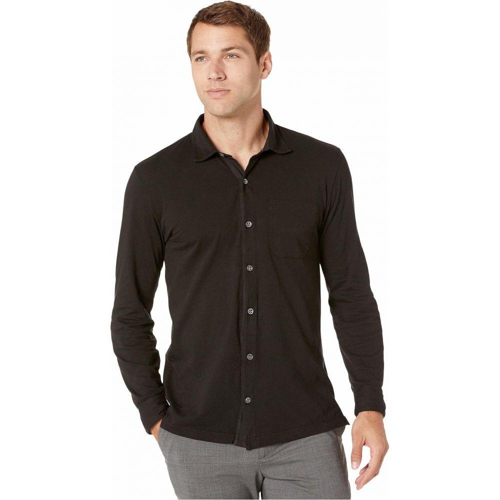 モドオードック Mod-o-doc メンズ シャツ トップス【Santa Monica Long Sleeve Button Front Shirt】Black