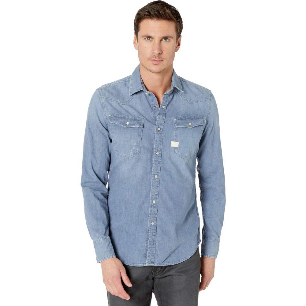 ジースター ロゥ G-Star メンズ シャツ トップス【3301 Slim Shirt】Faded Basalt