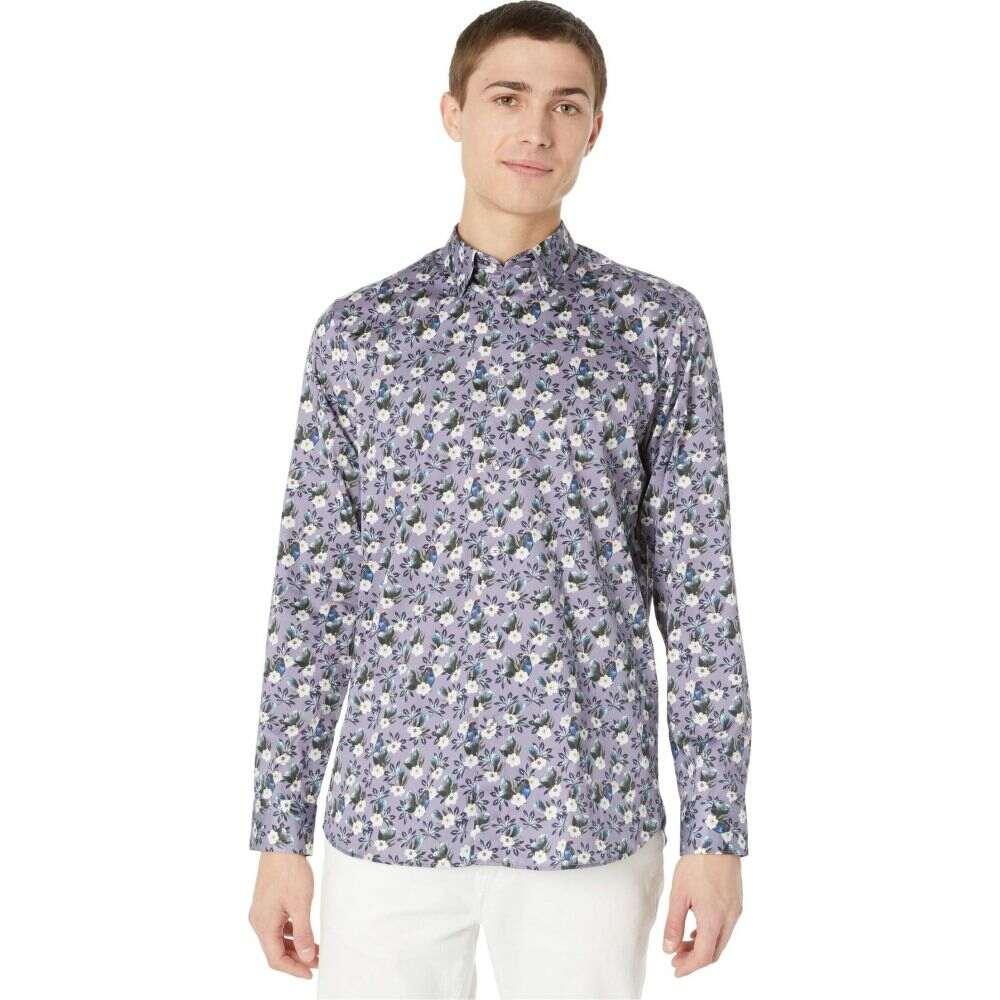 テッドベーカー Ted Baker メンズ シャツ トップス【She Can Long Sleeve Bird and Flower Print Shirt】Lilac