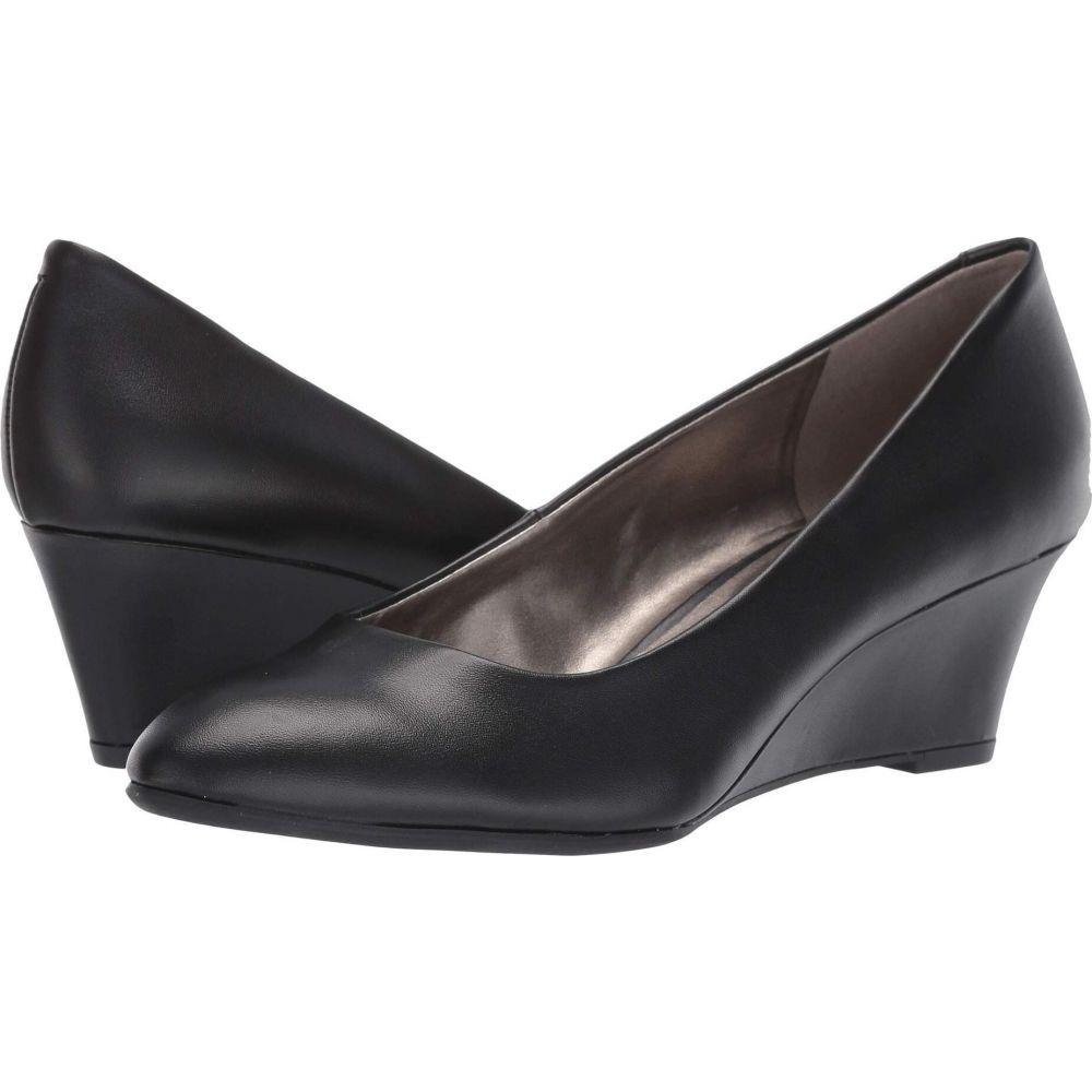 バンドリーノ Bandolino レディース ヒール ウェッジソール シューズ・靴【Fayola Wedge Heel】Black Leather