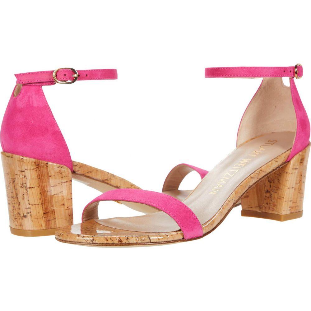 スチュアート ワイツマン Stuart Weitzman レディース サンダル・ミュール シューズ・靴【Simple City Sandal】Peonia Suede/Cork