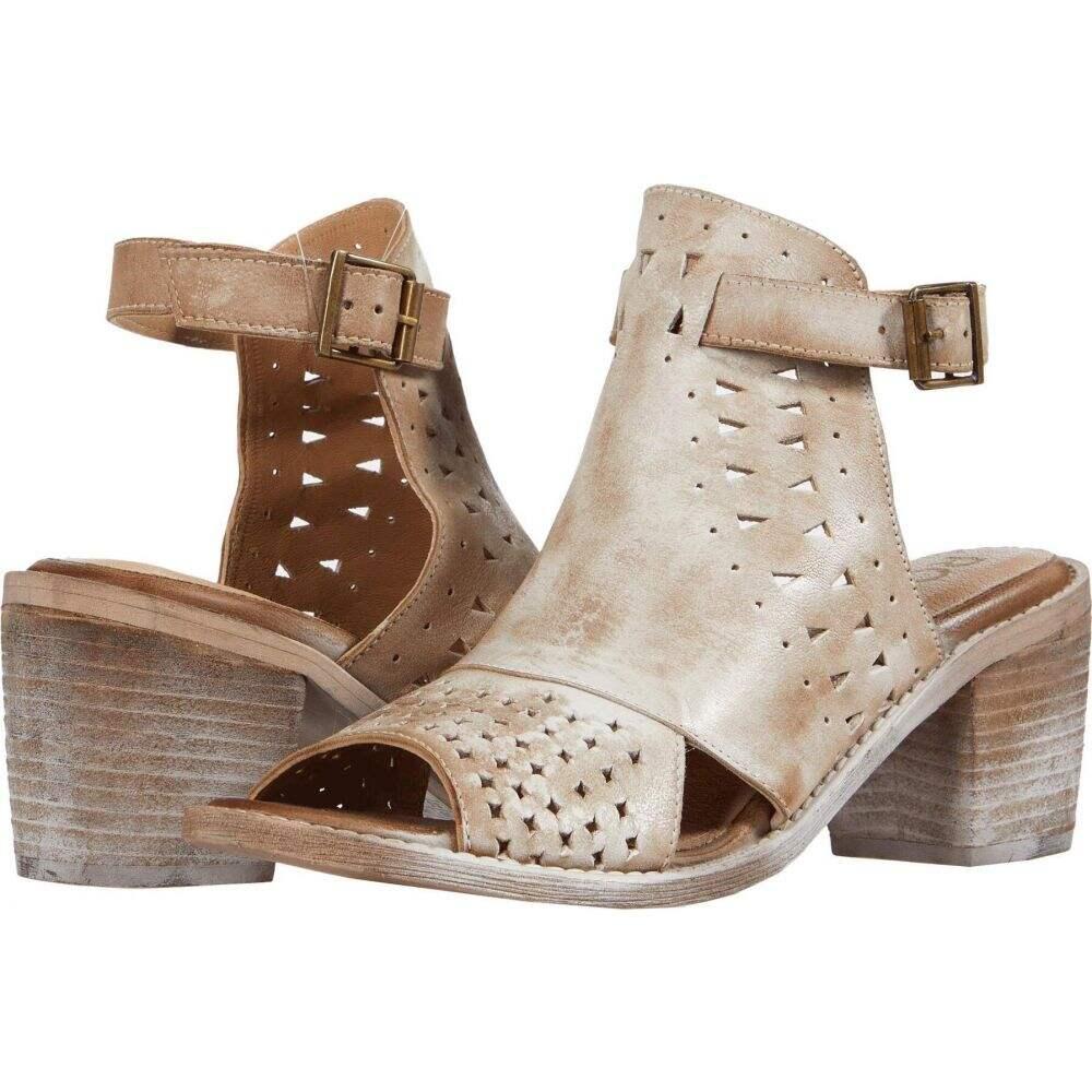 ロエン Roan レディース サンダル・ミュール シューズ・靴【Christine P】Tan Nubuck/White BFS