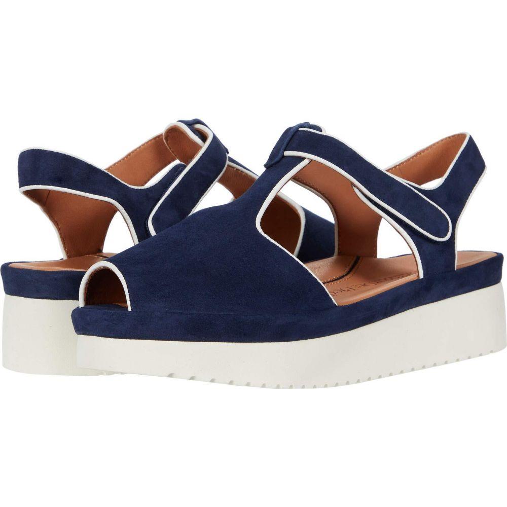 ラモールドピード L'Amour Des Pieds レディース サンダル・ミュール シューズ・靴【Almika】Navy Suede/White