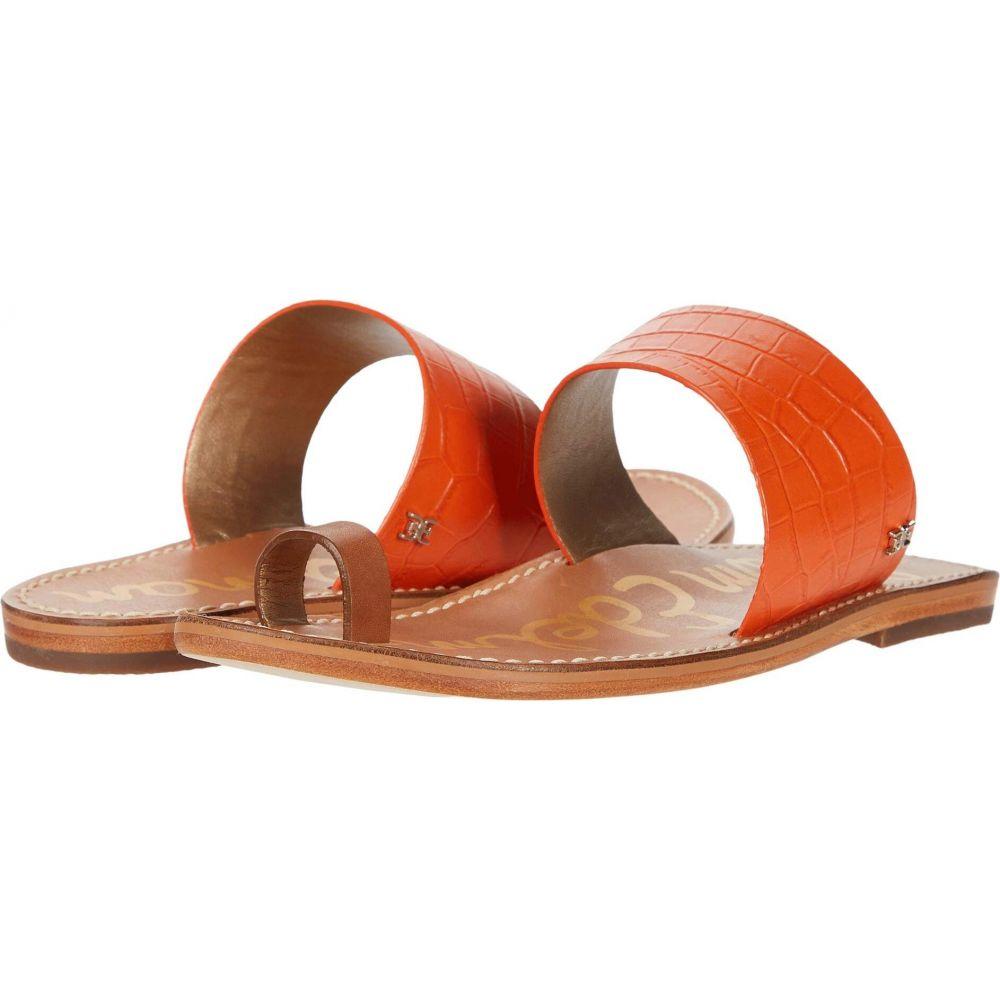 サム エデルマン Sam Edelman レディース サンダル・ミュール シューズ・靴【Maxy】Spicy Orange/Spiced Clay Shiro Croco Leather/Heavy Texas Veg Lea