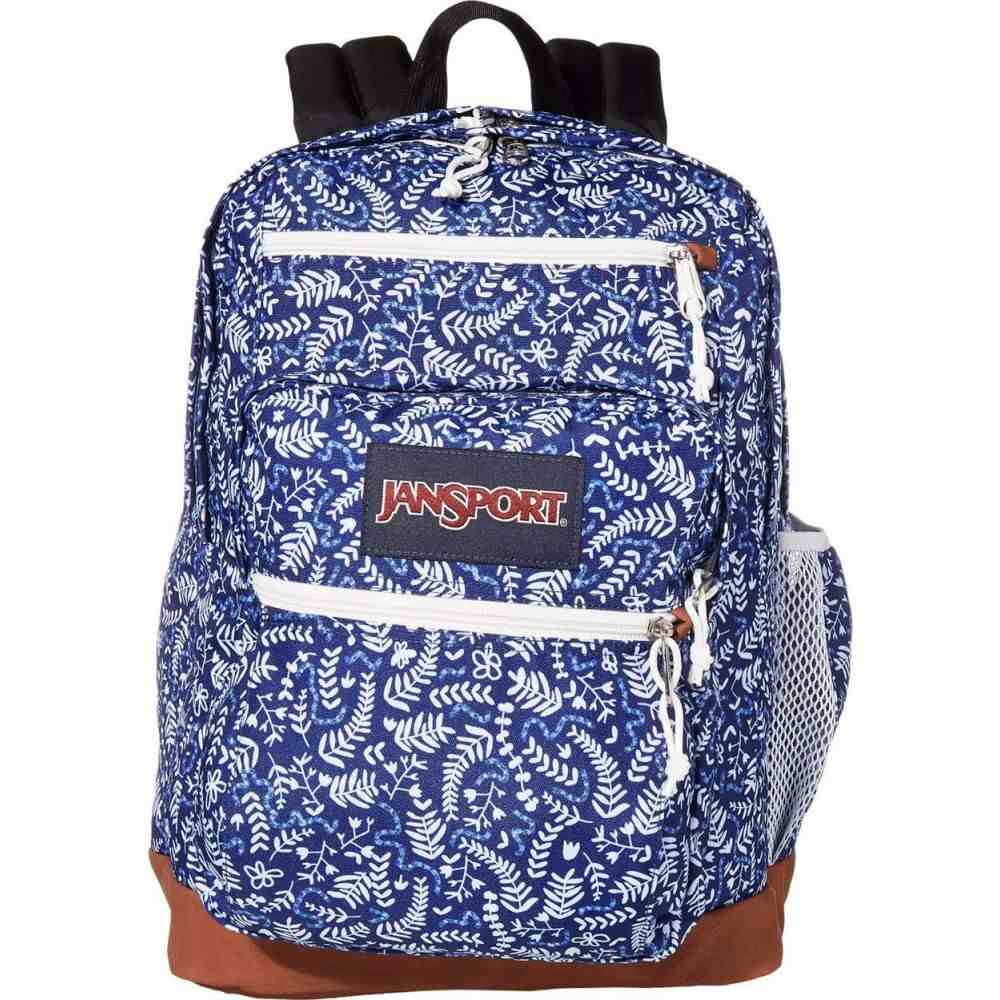 ジャンスポーツ JanSport レディース バックパック・リュック バッグ【Cool Student】Blue Ditsy