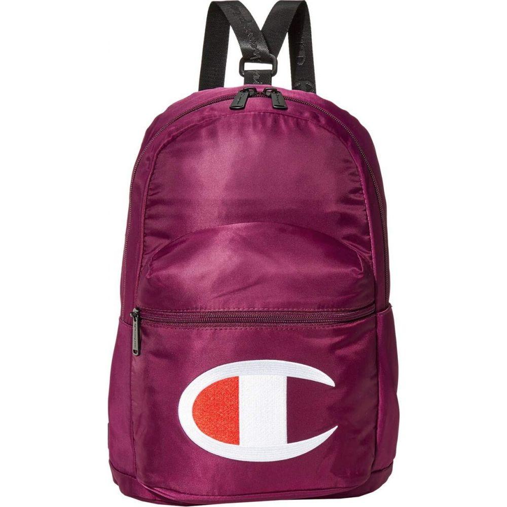 チャンピオン Champion LIFE レディース バックパック・リュック バッグ【Cadet Mini Crossover/Backpack】Purple