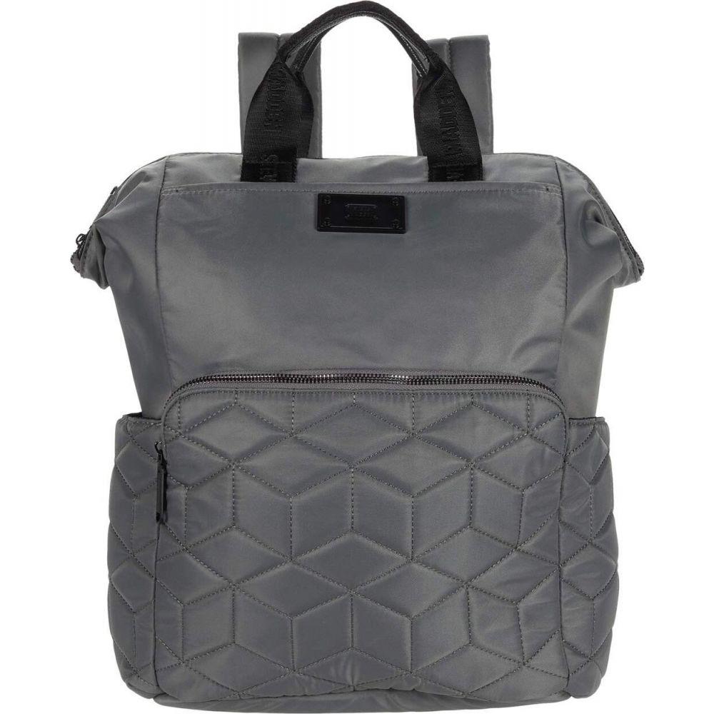スティーブ マデン Steve Madden レディース バックパック・リュック バッグ【Bqueens Quilted Backpack】Grey