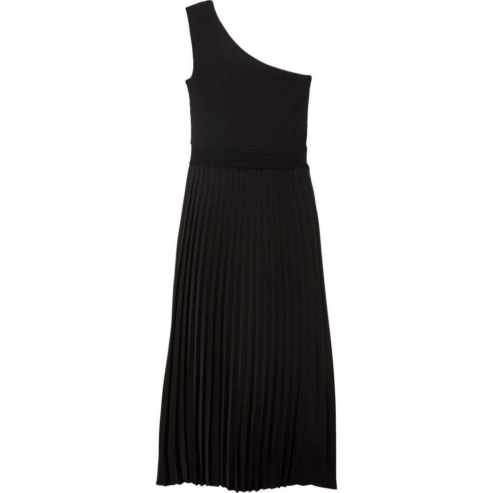 テッドベーカー Ted Baker レディース ワンピース ミドル丈 ワンピース・ドレス【Miriom Asymmetric Knitted Midi Dress】Black