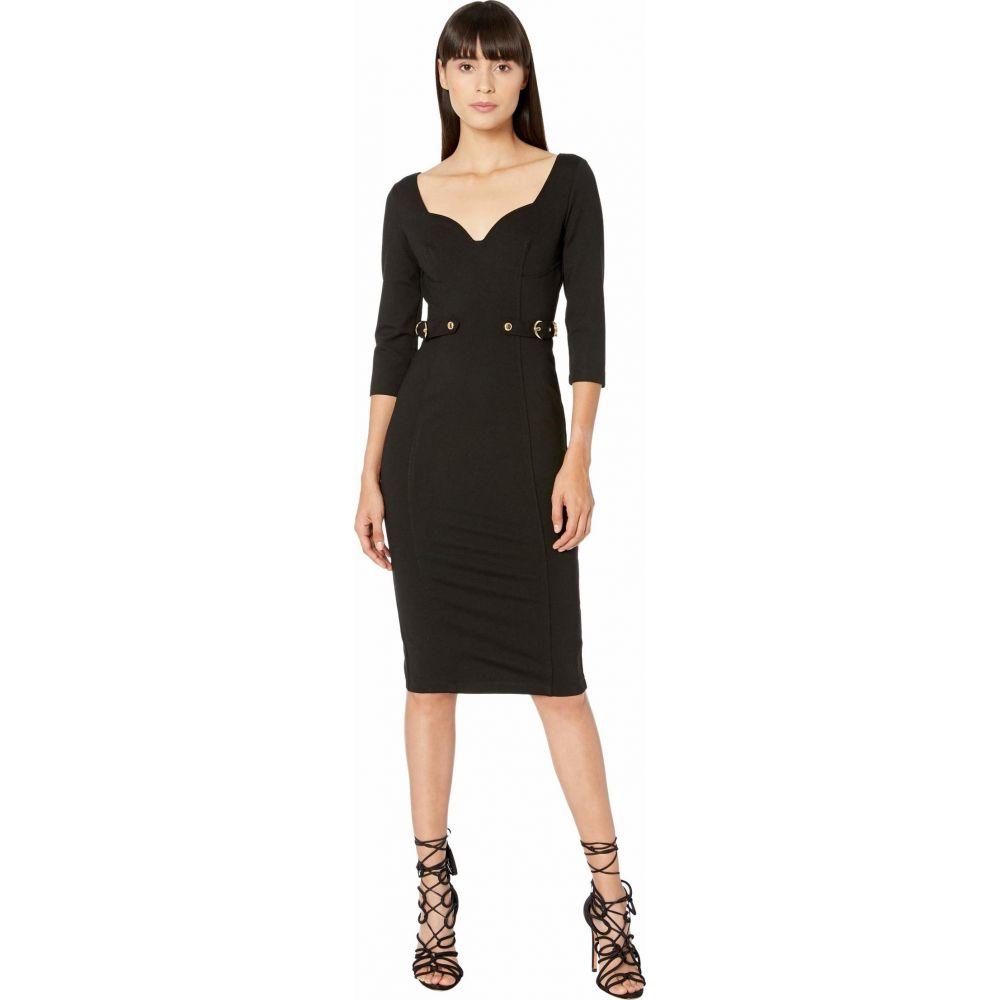 ヴェルサーチ Versace Jeans Couture レディース ワンピース ワンピース・ドレス【Compact Jersey Dress】Black