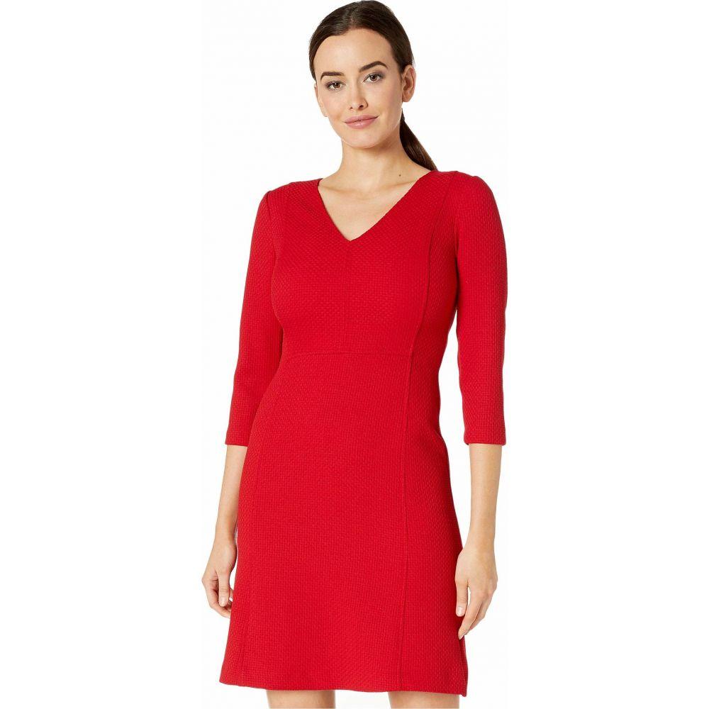 ラルフ ローレン LAUREN Ralph Lauren レディース ワンピース ワンピース・ドレス【Petite Fit-and-Flare Dress】Parlor Red