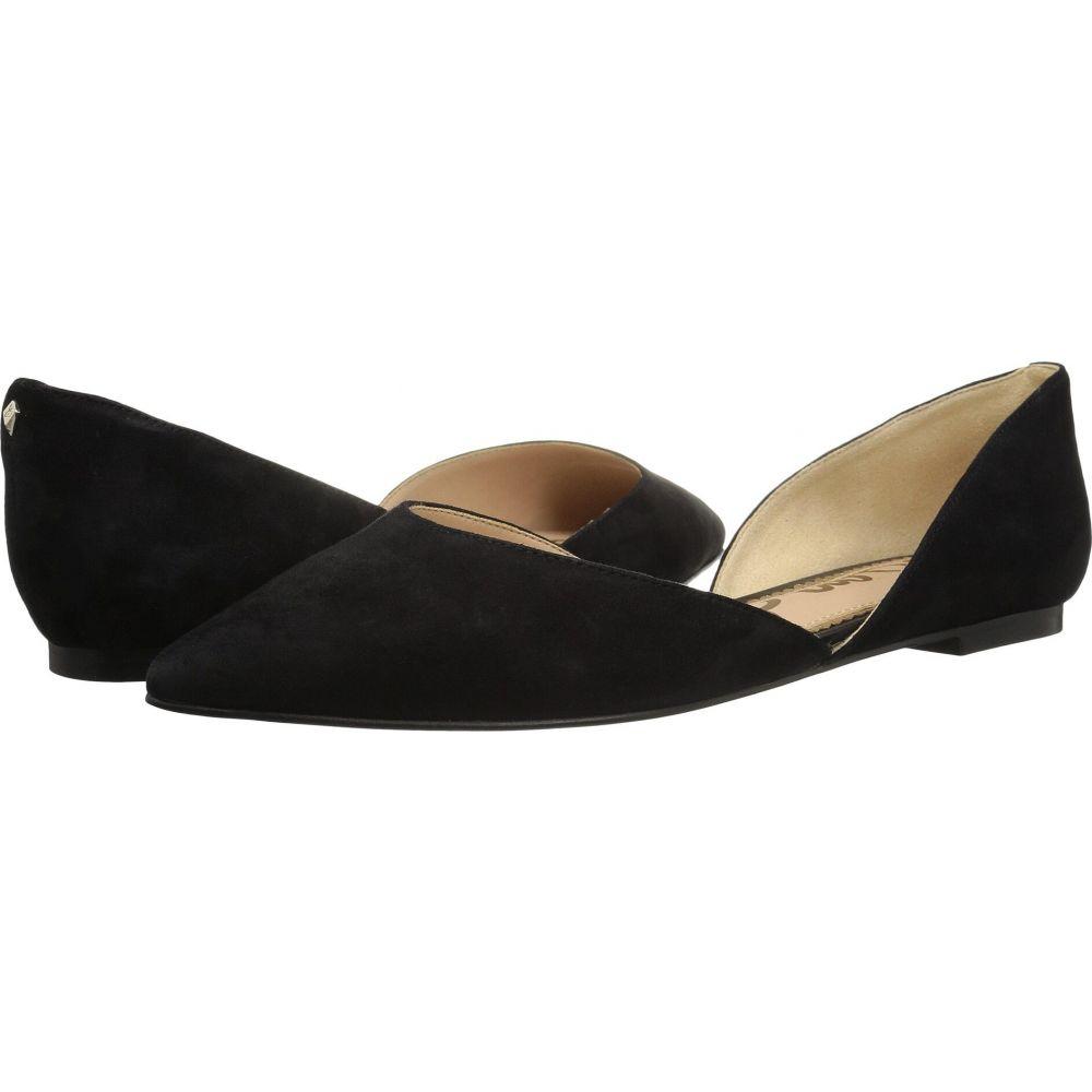 サム エデルマン Sam Edelman レディース スリッポン・フラット シューズ・靴【Rodney】Black Suede Leather