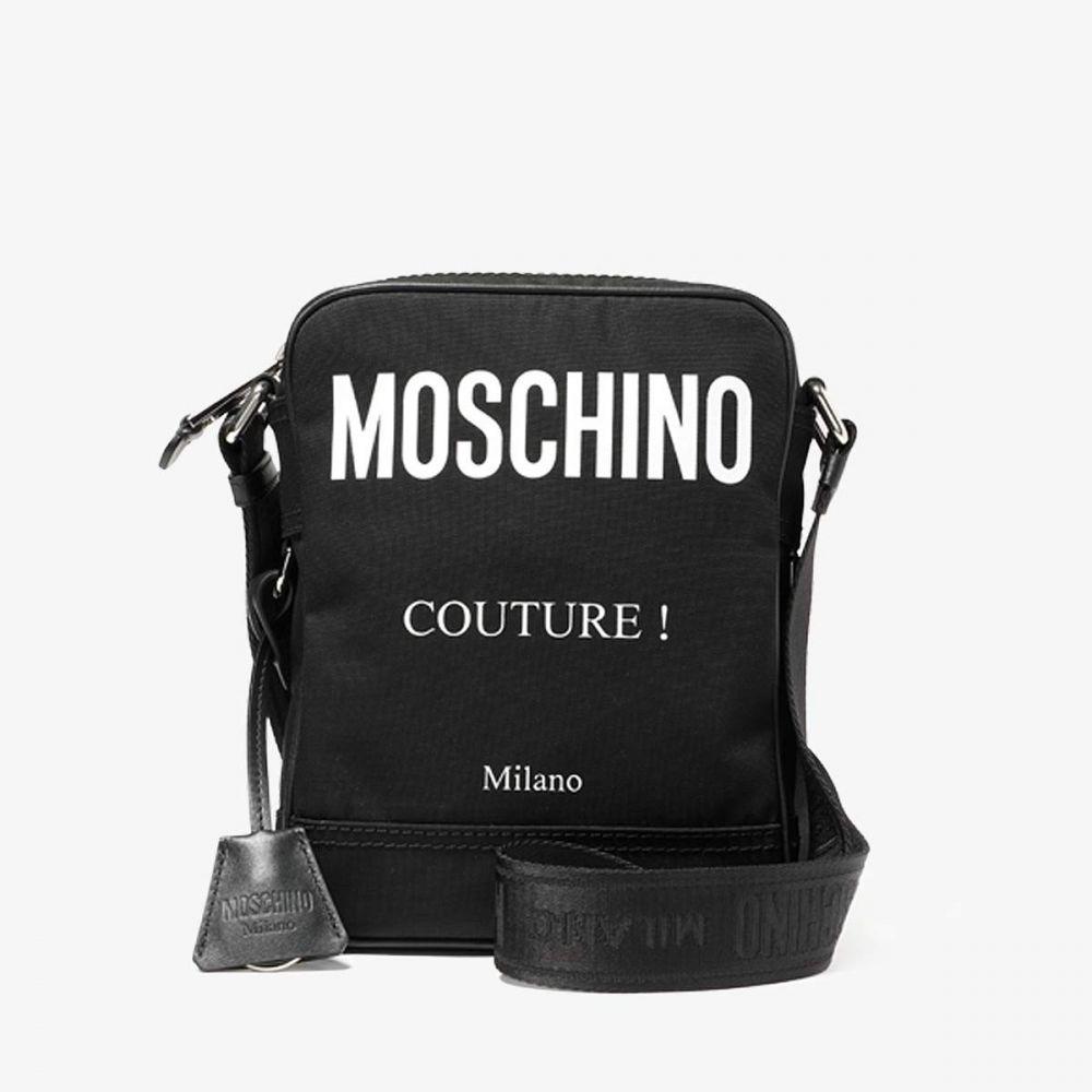 モスキーノ Moschino メンズ メッセンジャーバッグ バッグ【Couture Small! Messenger Bag】Black