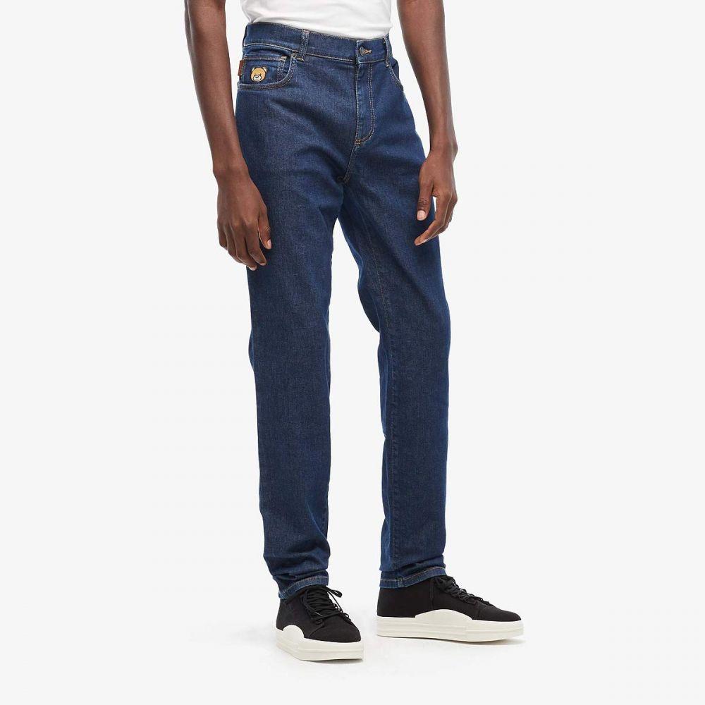 モスキーノ Moschino メンズ ジーンズ・デニム ボトムス・パンツ【Teddy Bear Jeans】Blue