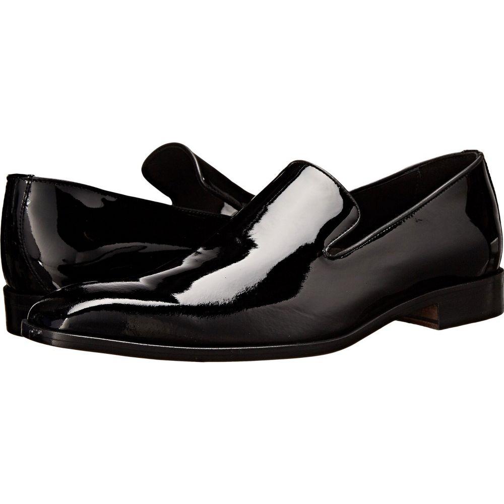 マッテオ マッシモ Massimo Matteo メンズ スリッポン・フラット シューズ・靴【Formal Slip-On】Black