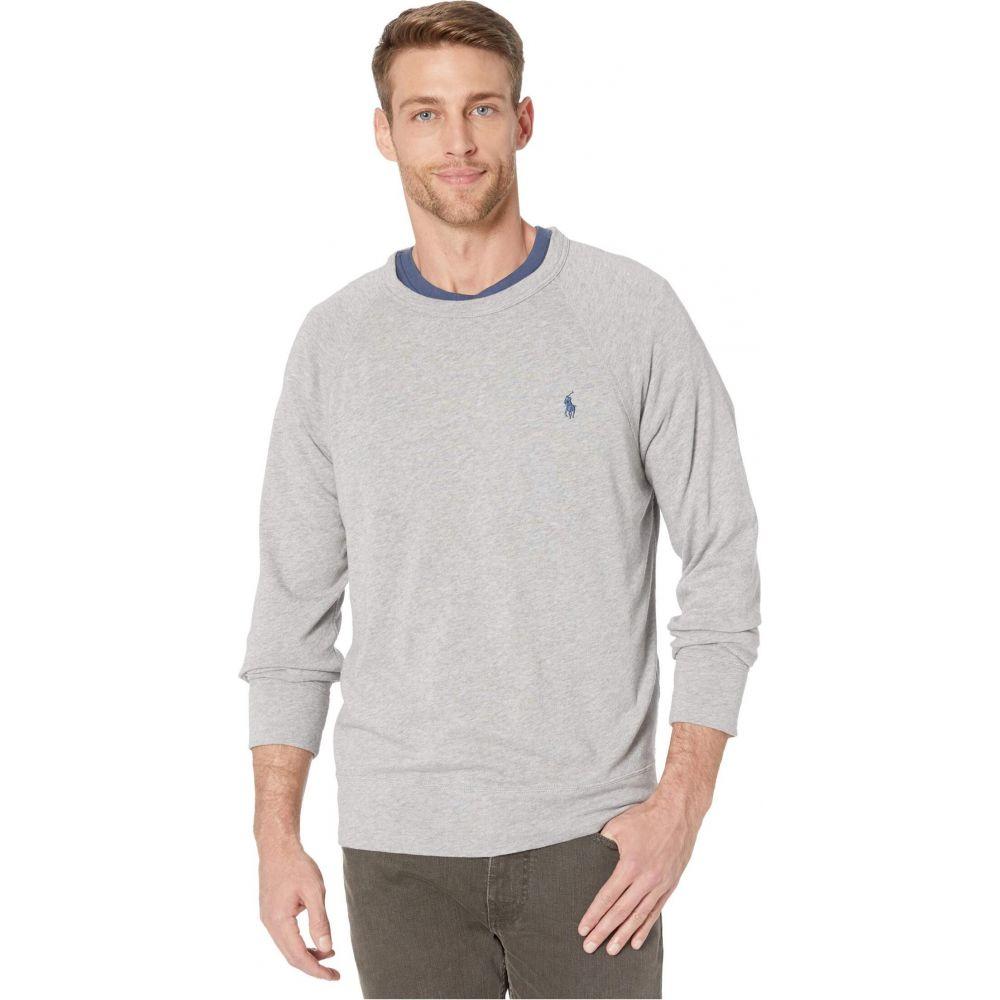 ラルフ ローレン Polo Ralph Lauren メンズ スウェット・トレーナー トップス【Spa Terry Long Sleeve Knit Sweatshirt】Grey Heather