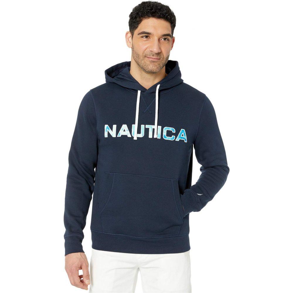 ノーティカ Nautica メンズ パーカー トップス【Long Sleeve Hoodie Top】Blue