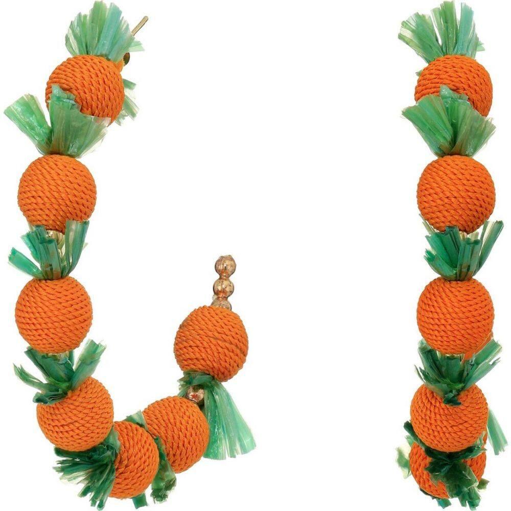 Kenneth レディース C フープピアス ジュエリー・アクセサリー【2X2 Post Lane Shape Hoop with Earrings Oranges】Gold/Orange/Green ケネスジェイレーン Jay イヤリング・ピアス