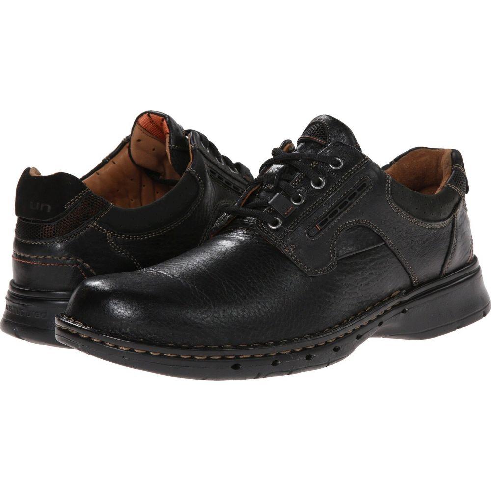 クラークス Clarks メンズ 革靴・ビジネスシューズ シューズ・靴【Un.ravel】Black Leather