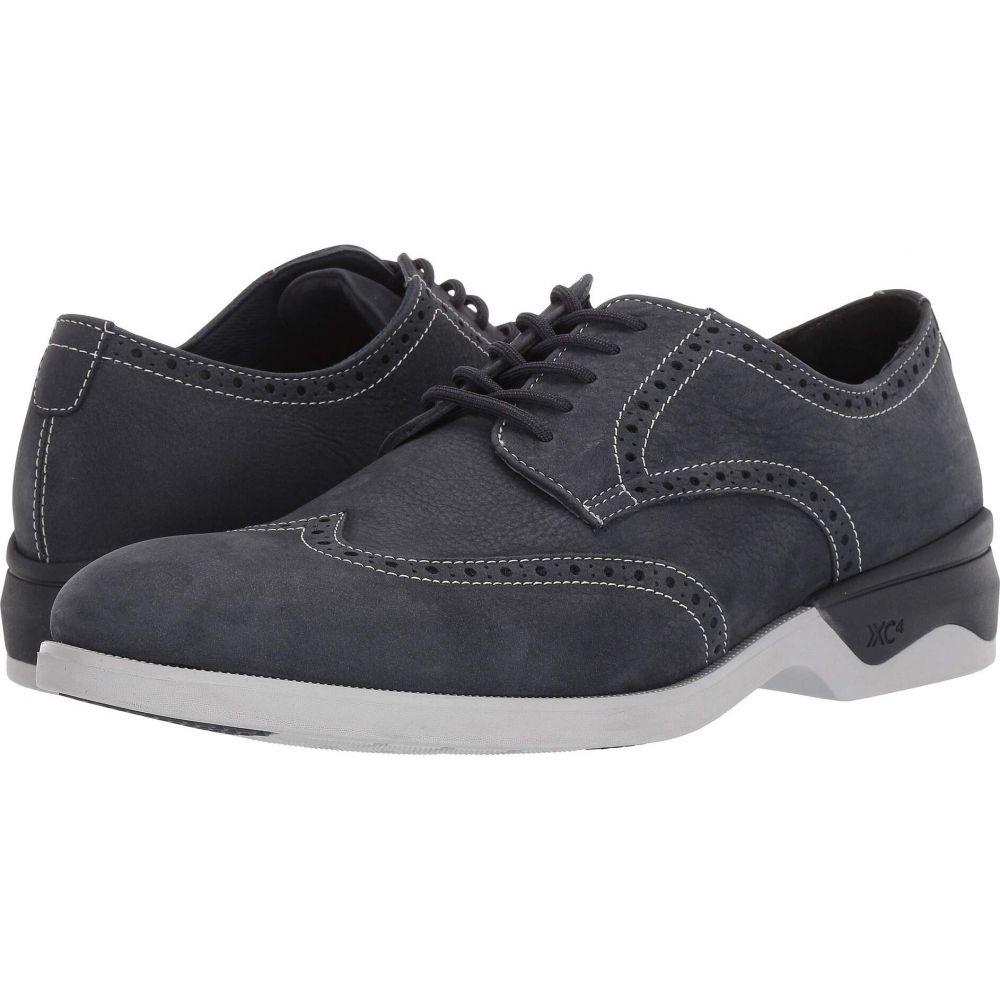 ジョンストン&マーフィー Johnston & Murphy メンズ 革靴・ビジネスシューズ ウイングチップ シューズ・靴【Waterproof XC4 Elkins Casual Wing Tip Oxford】Navy Nubuck