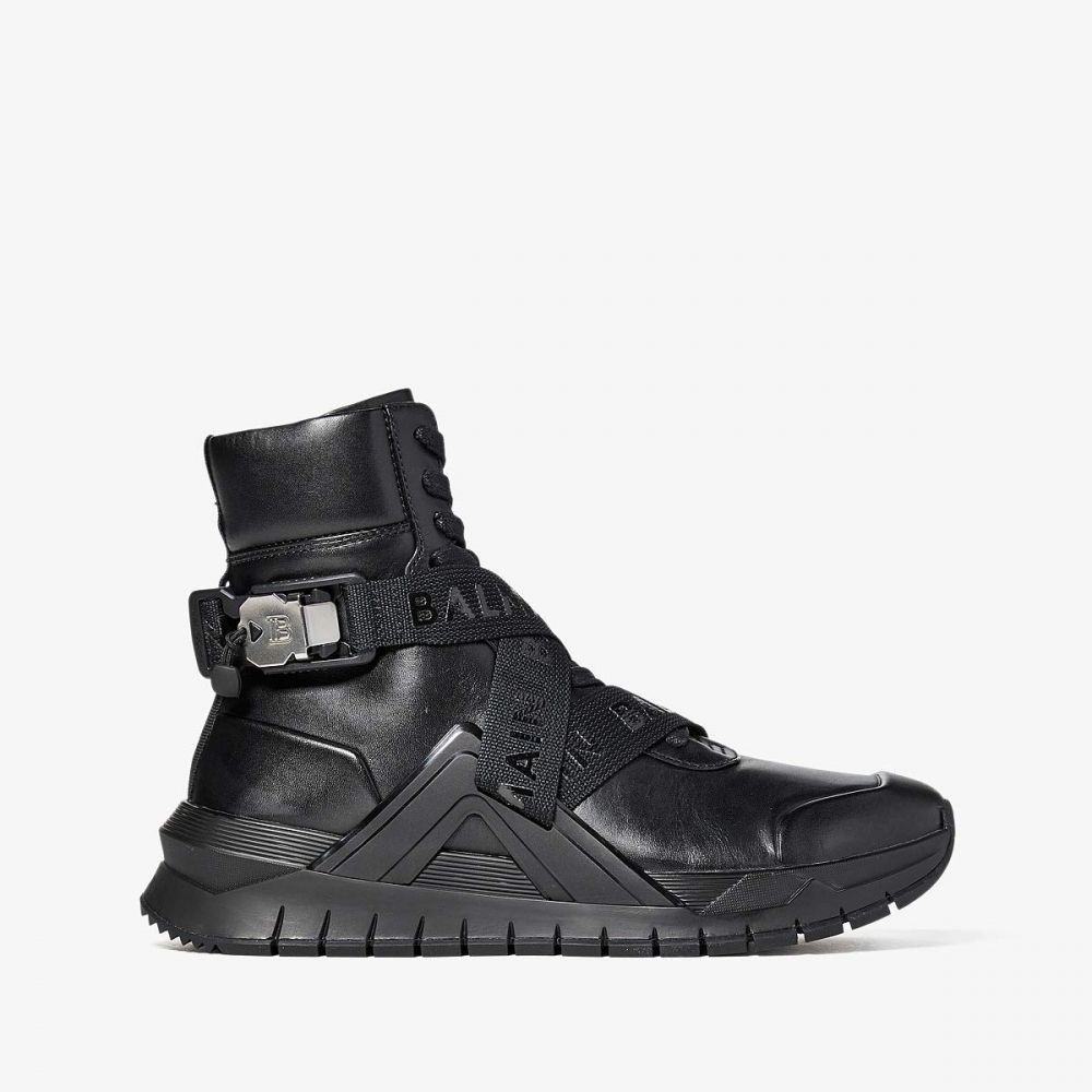<title>正規激安 バルマン メンズ シューズ 靴 スニーカー Black サイズ交換無料 Balmain B Troop Sneaker</title>