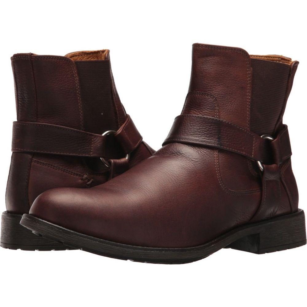 マッテオ マッシモ Massimo Matteo メンズ ブーツ シューズ・靴【Biker Boot】Brown