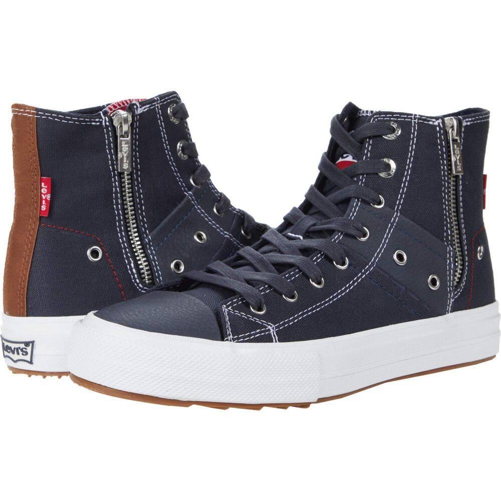 リーバイス Levi's Shoes メンズ スニーカー シューズ・靴【Zip EX Mid Olympic】Navy/Tan