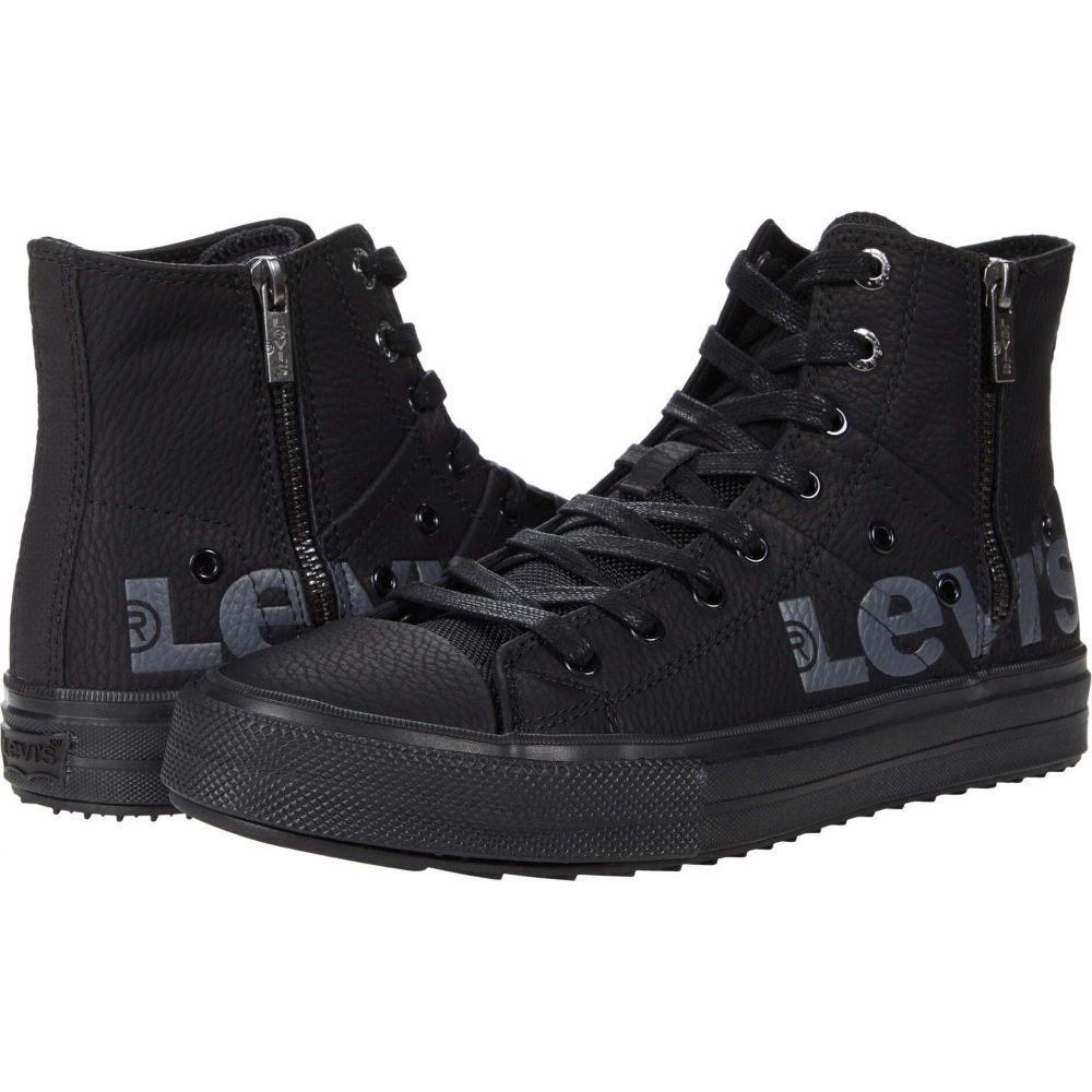 リーバイス Levi's Shoes メンズ スニーカー シューズ・靴【Zip EX Mid Anti X】Black Monochrome