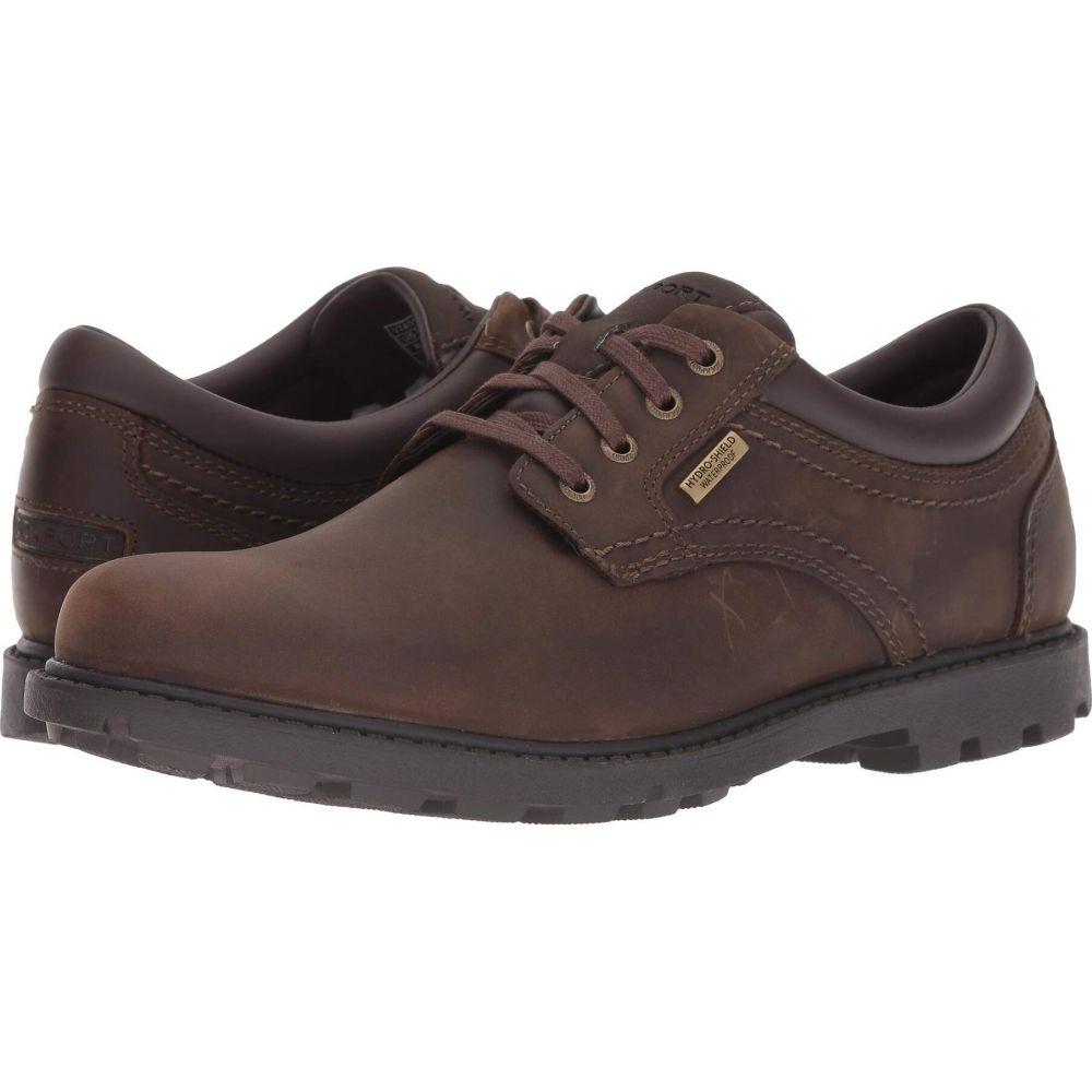 ロックポート Rockport メンズ 革靴・ビジネスシューズ シューズ・靴【Rugged Bucks Waterproof Plaintoe】Tan