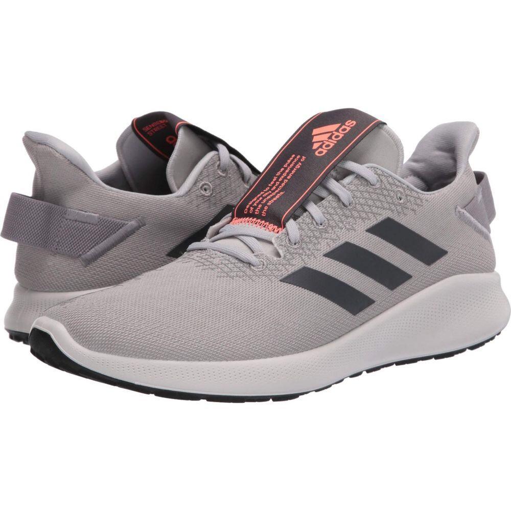 アディダス adidas Running メンズ ランニング・ウォーキング シューズ・靴【SenseBOUNCE + Street】Grey Two/Grey Six/Signal Coral