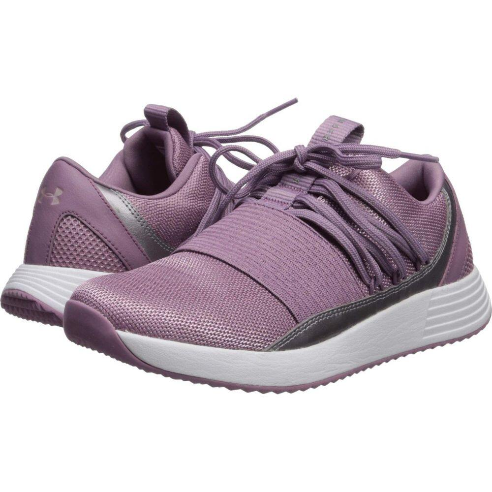 アンダーアーマー Under Armour レディース スニーカー シューズ・靴【UA Breathe Lace X NM】Purple Prime/White/White