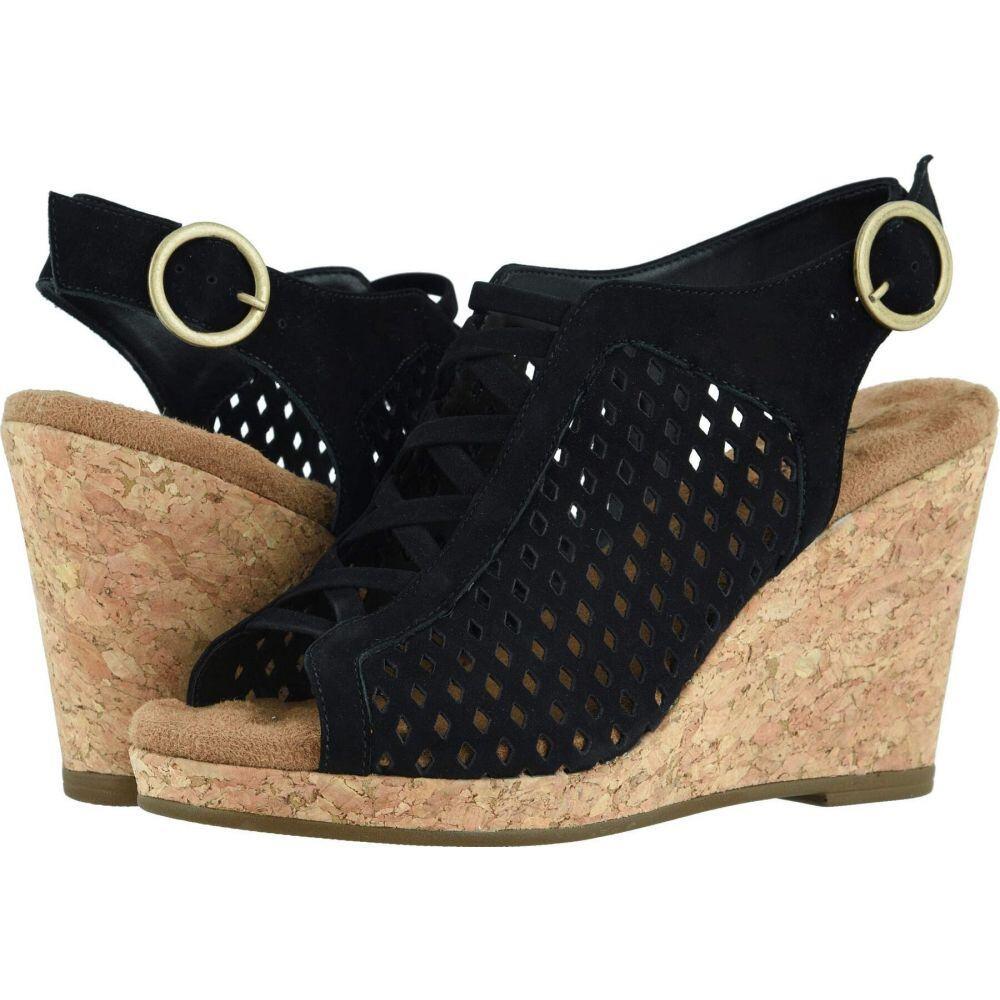 ウォーキング クレードル Walking Cradles レディース サンダル・ミュール シューズ・靴【Keegan】Black Nubuck