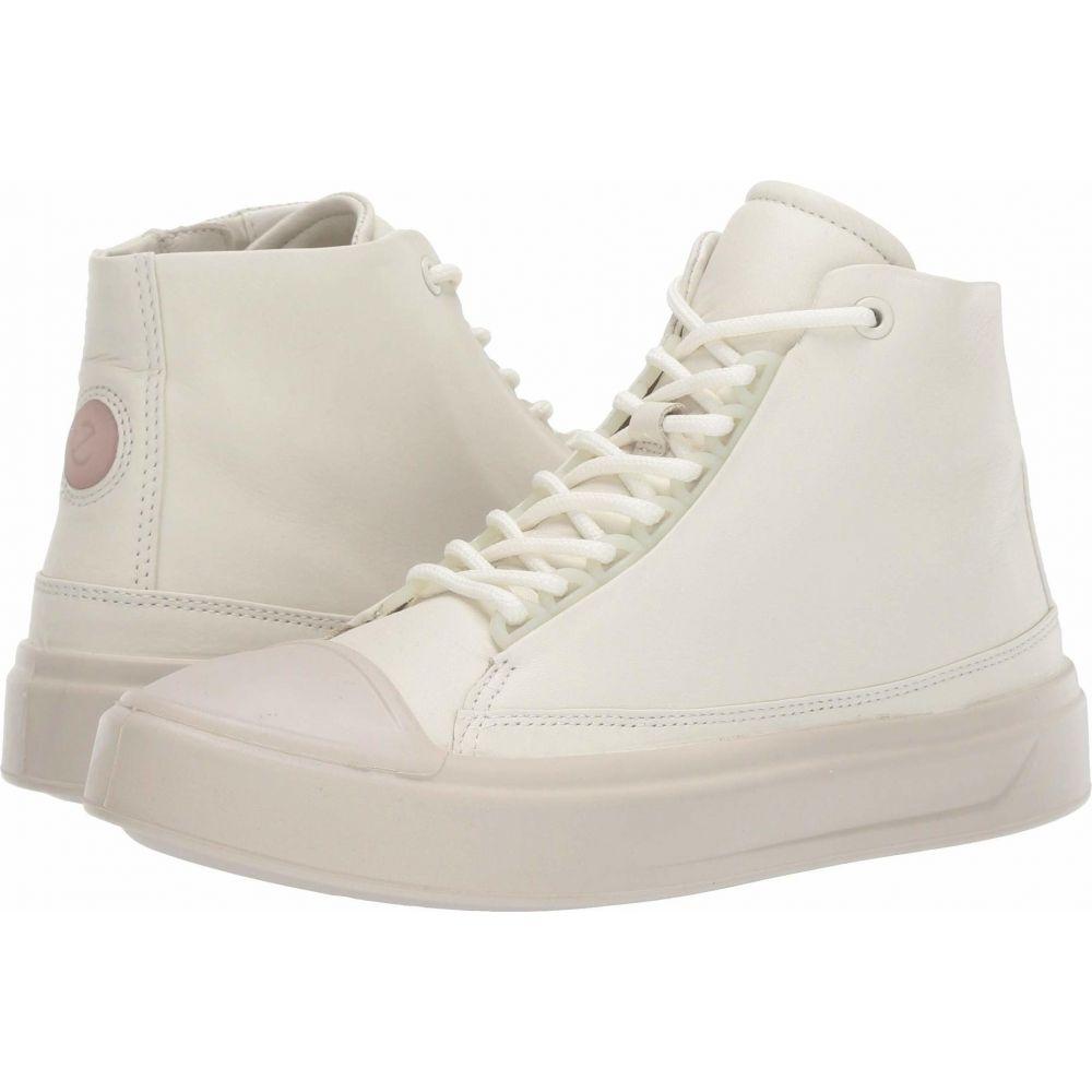 エコー ECCO レディース スニーカー シューズ・靴【Flexure T-Cap High Top】Shadow White