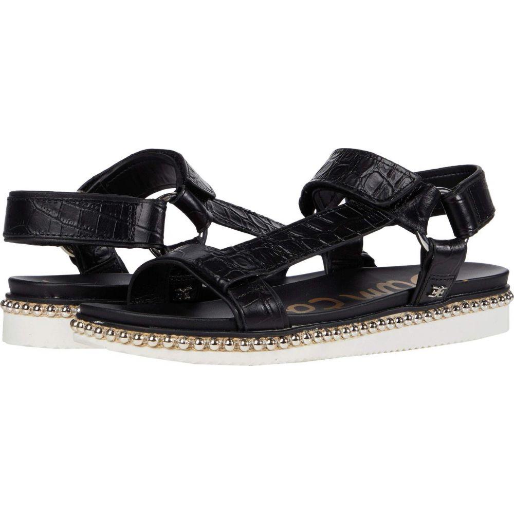 サム エデルマン Sam Edelman レディース サンダル・ミュール シューズ・靴【Annalise】Black Shiro Croco Leather/Bally Premium Leather