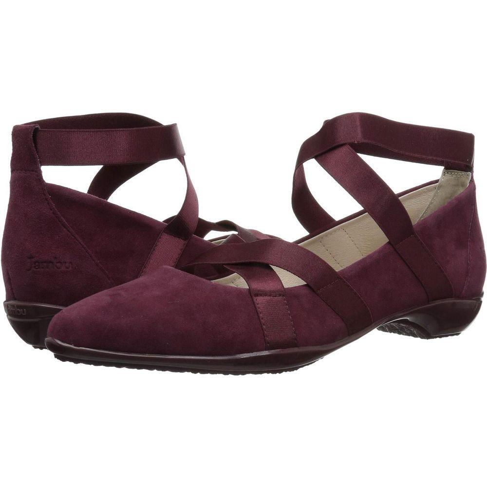 ジャンブー Jambu レディース ヒール シューズ・靴【Rumson - Too】Burgundy