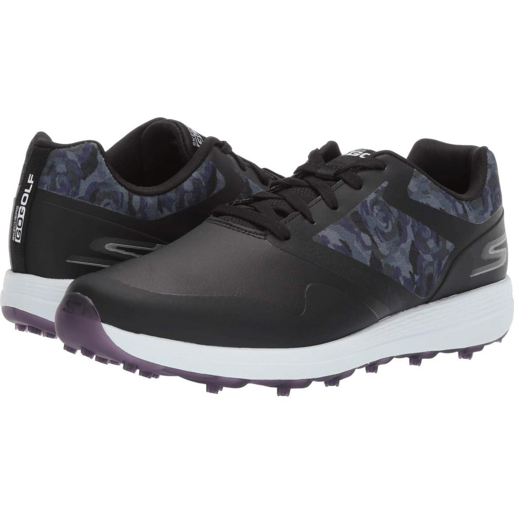 スケッチャーズ Skechers GO GOLF レディース スニーカー シューズ・靴【Max Draw】Black/Purple