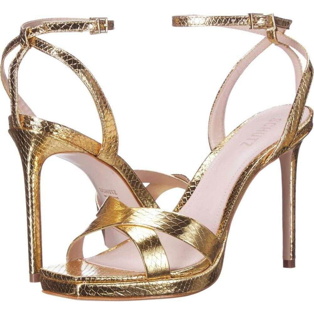 シュッツ Schutz レディース サンダル・ミュール シューズ・靴【Ava Rose】Gold