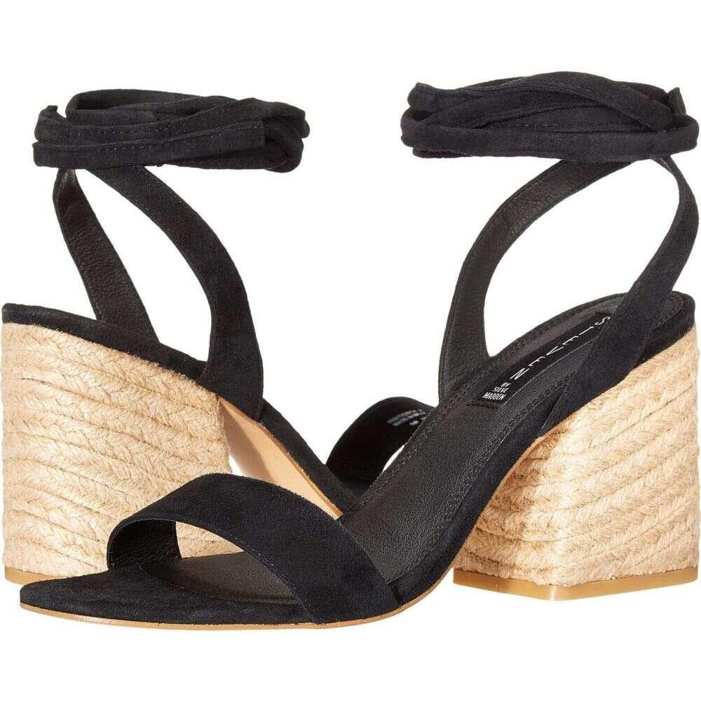 スティーブン ニューヨーク STEVEN NEW YORK レディース サンダル・ミュール シューズ・靴【Yasi】Black Suede