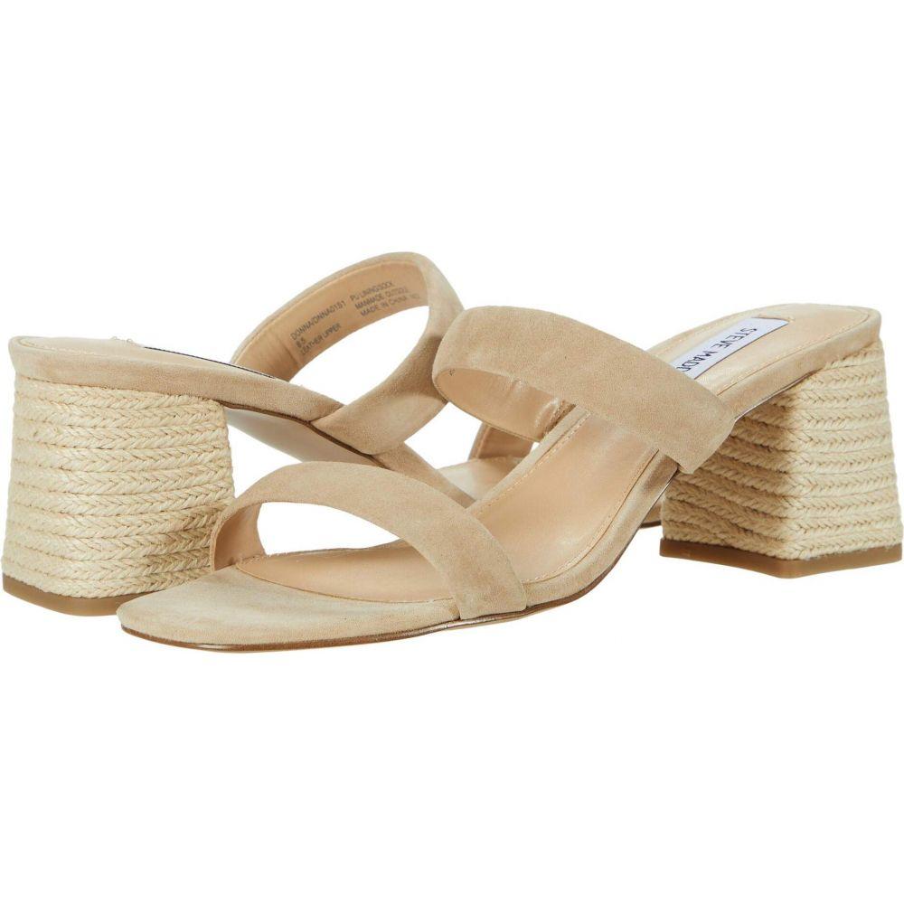 スティーブ マデン Steve Madden レディース サンダル・ミュール シューズ・靴【Donna Heeled Sandal】Blush Suede