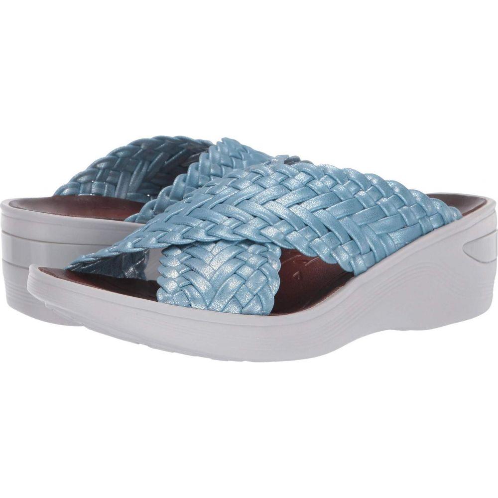 ゼィース Bzees レディース サンダル・ミュール シューズ・靴【Dainty】Ballad Blue Braided