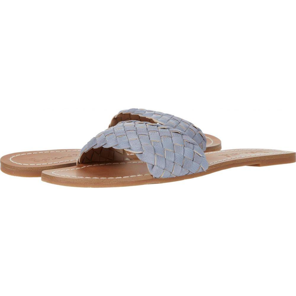 スプレンディッド Splendid レディース サンダル・ミュール シューズ・靴【Maegan】Sky Blue Tumbled Leather/Cow Suede