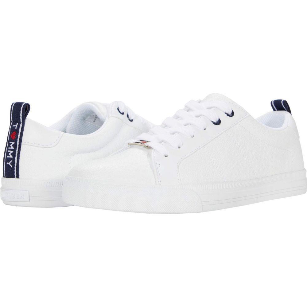 トミー ヒルフィガー Tommy Hilfiger レディース スニーカー シューズ・靴【Lila】White