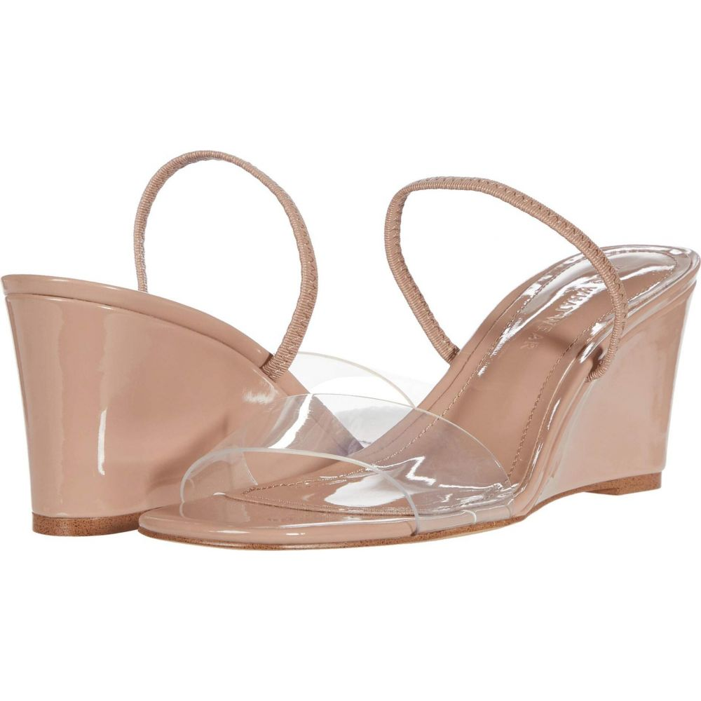 フー ワット ウェアー Who What Wear レディース サンダル・ミュール シューズ・靴【Thalia】Nude Patent